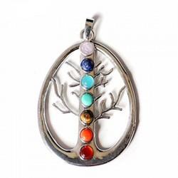 Colar Árvore da Vida  7 Chakras