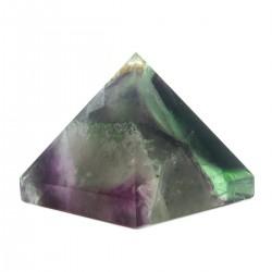 Pirâmide Fluorita  Arco Iris