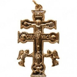 Cruz de Caravaca Dourada