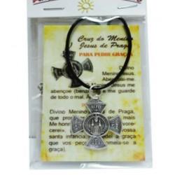 Cruz Menino Jesus de Praga