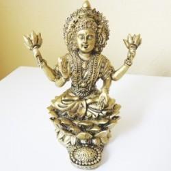 Deusa Lakshmi na Flor de Lótus