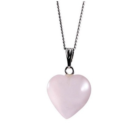 Coração Quartzo Rosa