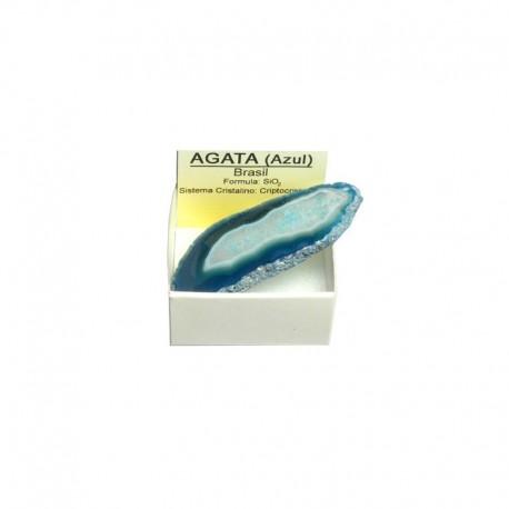 Ágata Azul - Chapa