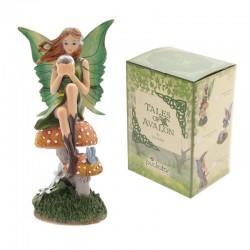 Fadas contos de Avalon de Lisa Parker-Fada com esmeralda