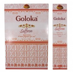 Incenso Goloka Saffron