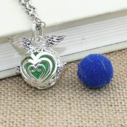 Difusor Essência Pessoal Coração Com Asas -   Aromoterapia