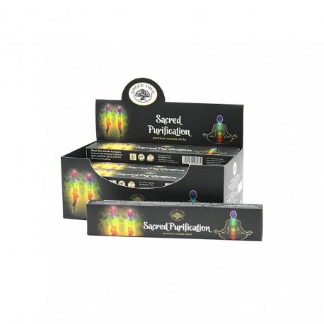 Incenso Green Three Sacred Purification