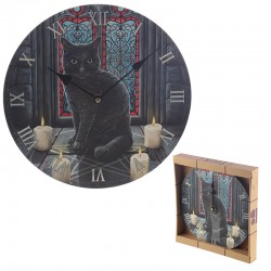 Relógio de parede da Lisa Parker – Gato Sagrado