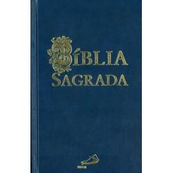 Bíblia Sagrada média azul