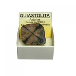 Quiastolita (Cruz de Santiago)
