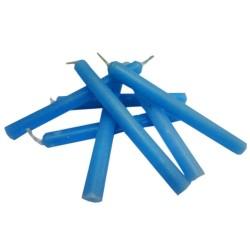 Vela de 15cm Azul Claro